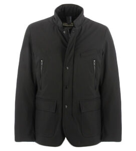 Image is loading BOMBOOGIE-black-jacket-in-down-for-men-Bomboogie- ade48c2ebd