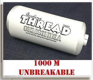 1000-m-BEADING-THREAD-100-NYLON-UNBREAKABLE-MAKE-NECKLACES-BRACELET-Gems-India