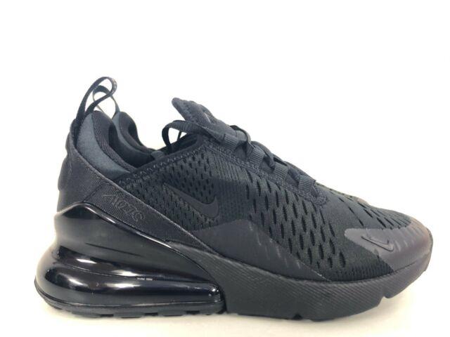 Nike Air Max 270 BG Kids Black SNEAKERS Youth Size 3.5y Bq5776 001