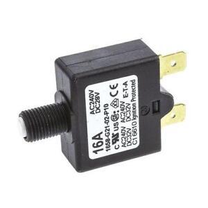 1 x ETA 1658-G21-02-P1<wbr/>0-16A 1 Pole Thermal Magnetic Circuit Breaker 28V dc 240V