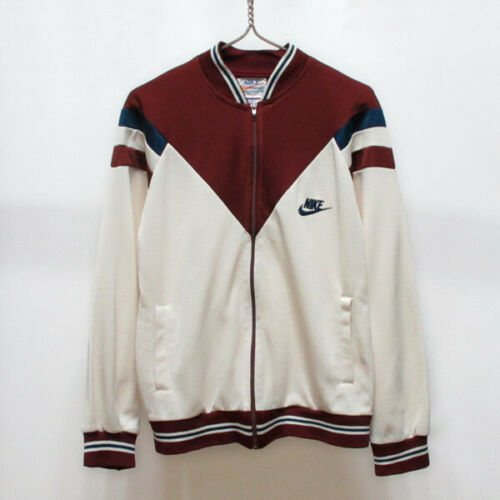 Vintage 70s NIKE Swoosh Track Suit Jacket Jersey m
