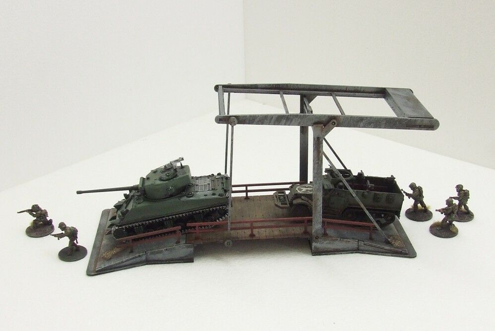 'BRUEGAL CANAL BRIDGE' - 28mm  - ASSEMBLED MDF & PAINTED TO COLLECTOR'S STANDARD