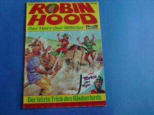 Robin-Hood-ComicHeft-Nr-97-Original-Bastei-Verlag-alt-selten-top