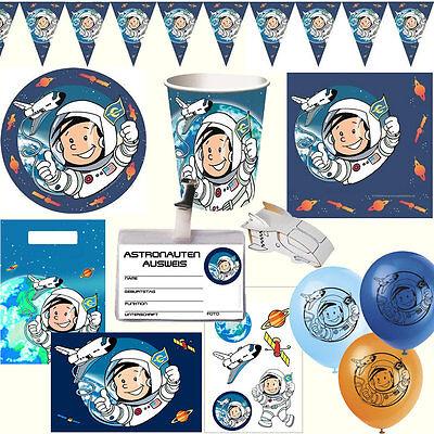 * Astronaut Flo * Alles zum Kindergeburtstag - Weltraum Motto Deko Geburtstag