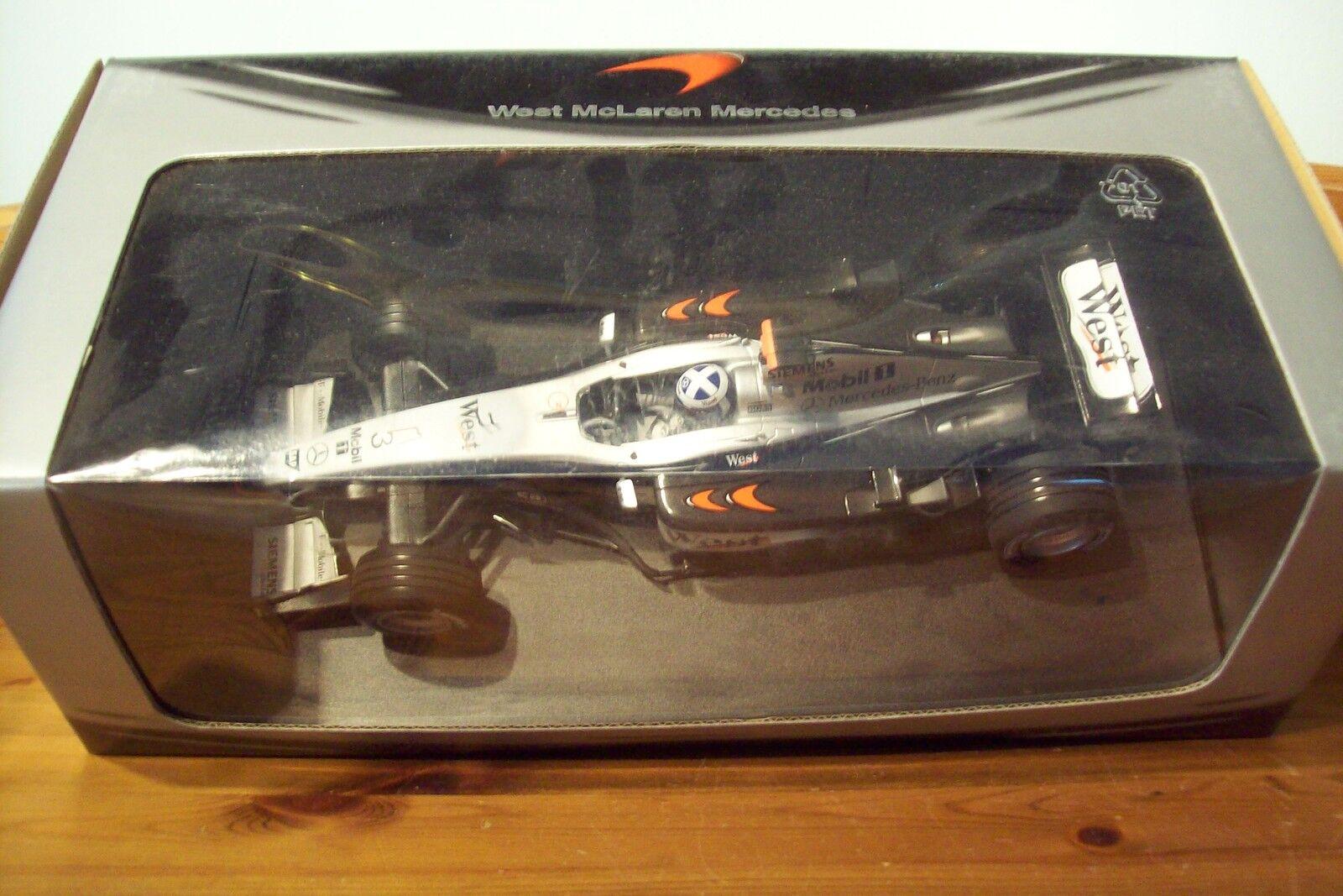 bienvenido a orden 1 18 McLaren McLaren McLaren MP4 17 edición en caja David Coulthard West  precios razonables
