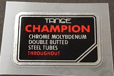 Tange Chrome Molybdenum Tubing Decal (sku 10720)