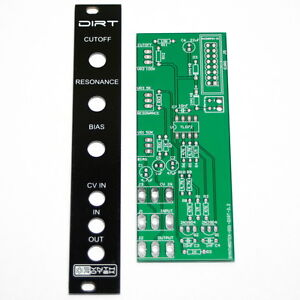 Synthrotek-DIRT-Filter-PCB-and-Panel-Eurorack-Module-Modular-Effect