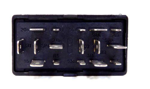 Dispositif de commande relais essuie-Lavage intervalle Pluie Capteur Essuie-glaces Skoda VW