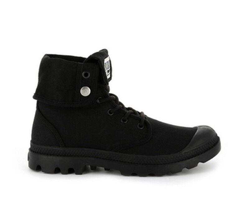 Los últimos zapatos de descuento para hombres y mujeres Palladium baggy Army trng u negro