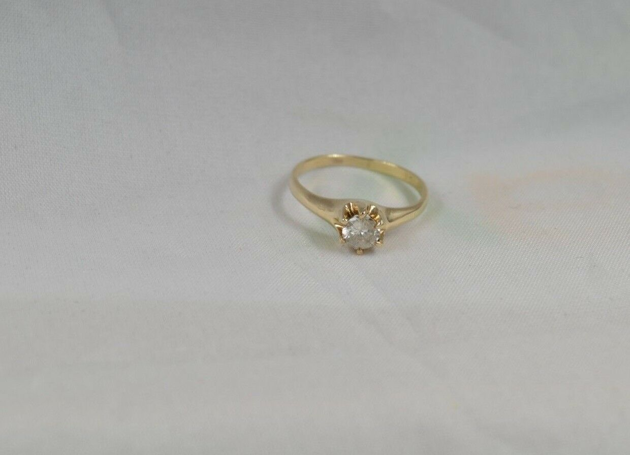 RW324   Vintage approx.50 ct.tw. I-color,SI-clarity, Estate Engagement  Ring