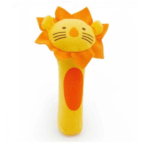 Neugeborenes Baby Soft Sound Tier Handbells Plüsch Squeeze Rassel Spielzeug B\kj