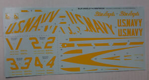 1-48eme-DECALS-POUR-BLUE-ANGELS-F-4J-REVELL-MONOGRAM-NEUF
