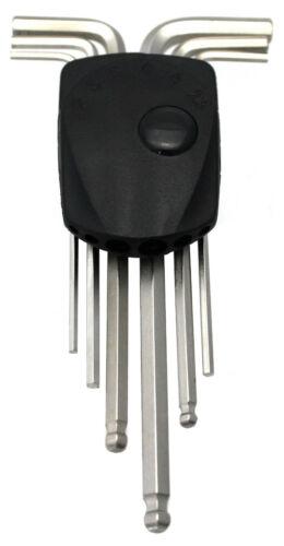 P4B Innensechskantschlüssel 2-6mm Satz Set mit Kugelkopf Inbus Werkzeug TB-TH05