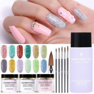 BORN-PRETTY-Acrylic-Powder-Glitter-Sequins-Nail-Art-Polymer-Nail-Manicure-Dust