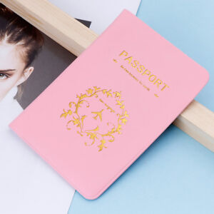 Travel Utility Simple Passport Id Card Cover Holder Case Protector Skin Leather Attractive Appearance Luggage & Bags