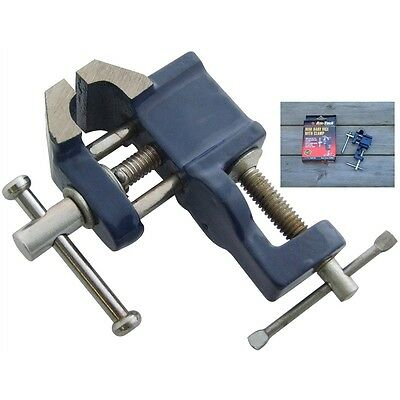 Mini Baby Engineers / Jewellers Bench / Desk Vice with Table Clamp Hobby & Craft