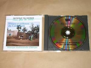 CD-FLUTES-ET-RYTHMES-DU-CAMEROUN-CLAUDE-FONFREDE-TRES-BON-ETAT