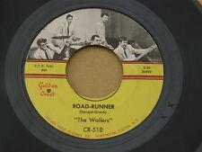 "WAILERS ROAD-RUNNER GOLDEN CREST orig US GARAGE ROCK SURF INSTRO 7"" 45 HEAR"