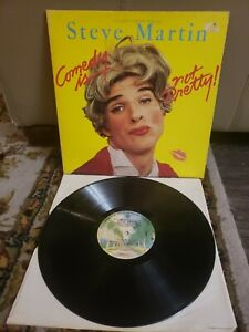 COMEDY IS NOT PRETTY by STEVE MARTIN (VINYL LP, 1979, WB) VG, EX