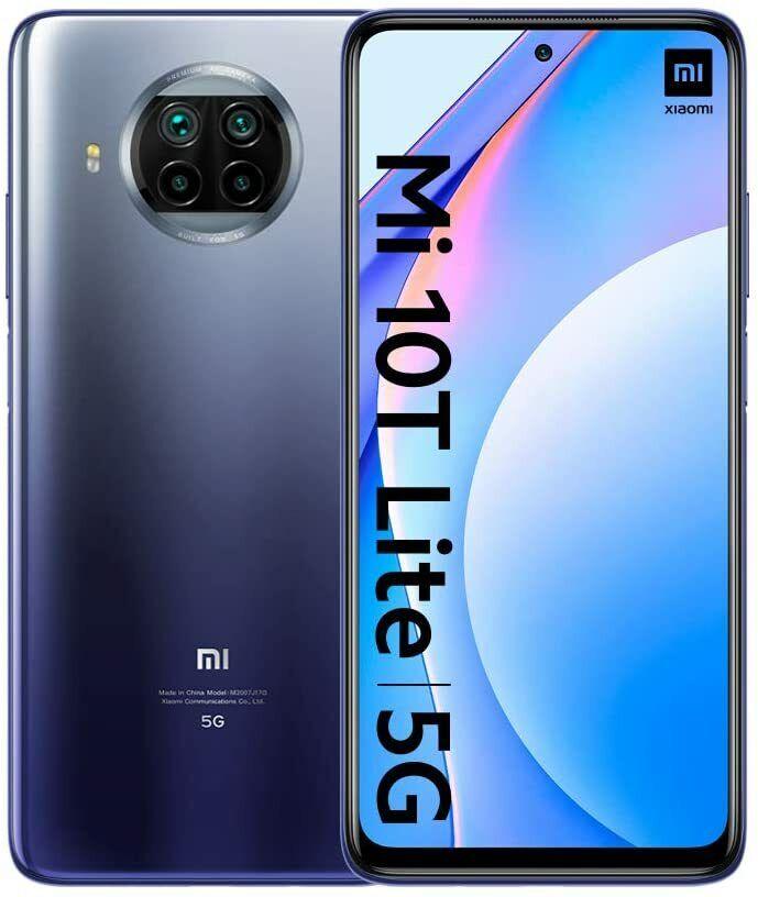 xiaomi: Smartphone Xiaomi Mi 10T Lite 5G 6/128GB BLU DotDisplay 6,67″FHD+Snapdragron750G