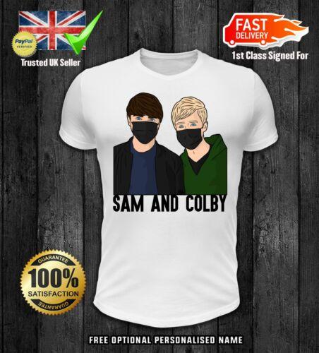 COLBY BROCK SAM AND COLBY XPLR T SHIRT KIDS boys girls youtuber VLOGGER 3
