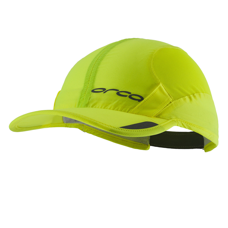 Orca Lightweight Running Visor Black Adjustable Unisex Sports Headwear