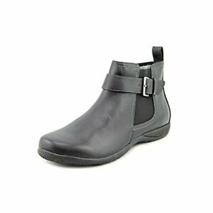 Vionic Adrie Womens Casual Ankle Boot Black