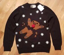 0a8075390d67 3d Gingerbread Man Christmas Sweater
