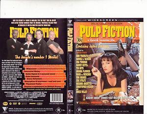 Pulp Fiction 1994 John Travolta Movie Dvd Ebay
