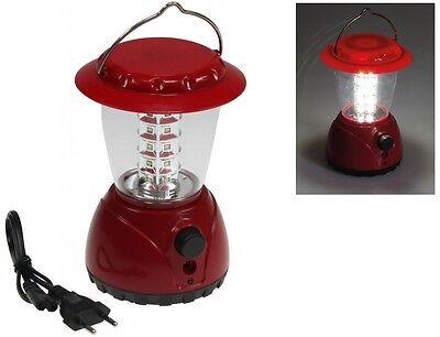 LED Akku Camping Laterne 36 LED Dimmer Campinglampe Zeltlampe Laterne Lampe
