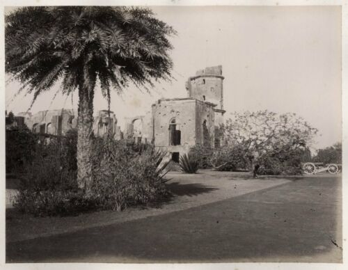 c.1860's PHOTO INDIA THE RESIDENCY LUCKNOW