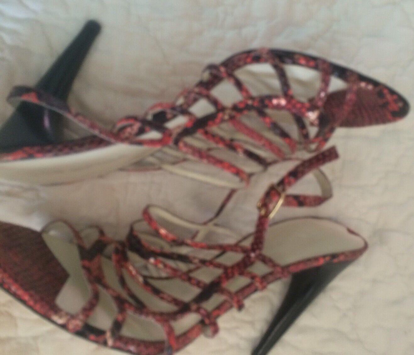Via Spiga Nuevo Multi Color Color Multi Para Mujer Zapatos Talla 10 M Tacones MSRP  225 b28c35