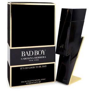 Carolina Herrera Bad Boy 3.4 oz Men's Eau de Toilette Spray