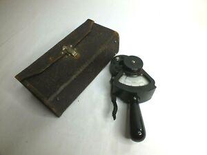 Vintage Columbia Electric Tong Test Ampere Original Case Ammeters P/N 4069C