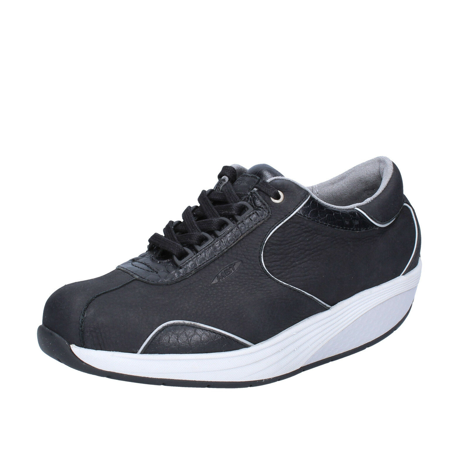 Femme   chaussures  MBT 3,5 (EU 36) sneakers  noir  leather performance BT65-36