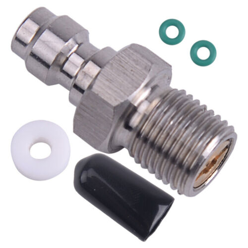 8MM Male Quick Head Connection Check Valve One Way Fill Nipple Kit M10*1 A6