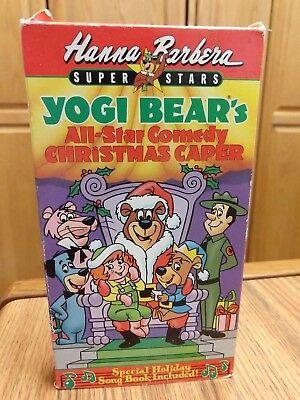 Yogi Bears All Star Comedy Christmas Caper.Vntg Hanna Barbera Yogi Bear S All Star Comedy Christmas Caper Vhs Video 1989 14764107738 Ebay