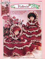 Victoria, Fibre-craft Crochet Patterns For 13 Dolls & 8 Pillow Dolls