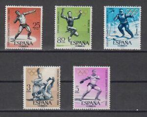 EDIFIL-1617-21-OLIMPIADAS-TOKIO-ESPANA-ANO-1964-SPAIN