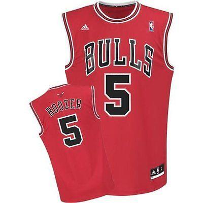 NBA Basketball Trikot/Jersey Revolution30 CHICAGO BULLS Carlos Boozer # 5 red