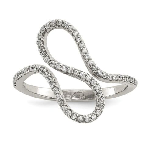 Sterling Silver 10.14 MM CZ Ring MSRP $77