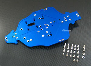 Alloy Main Chassis for Kyosho Mini Inferno