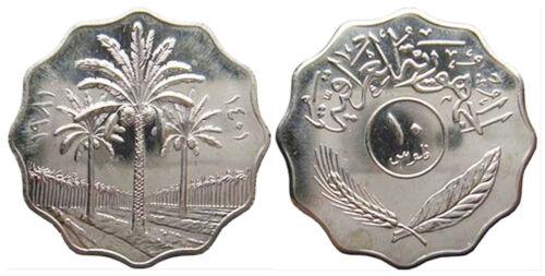 KM126a Iraq 1981 10 Fils Uncirculated
