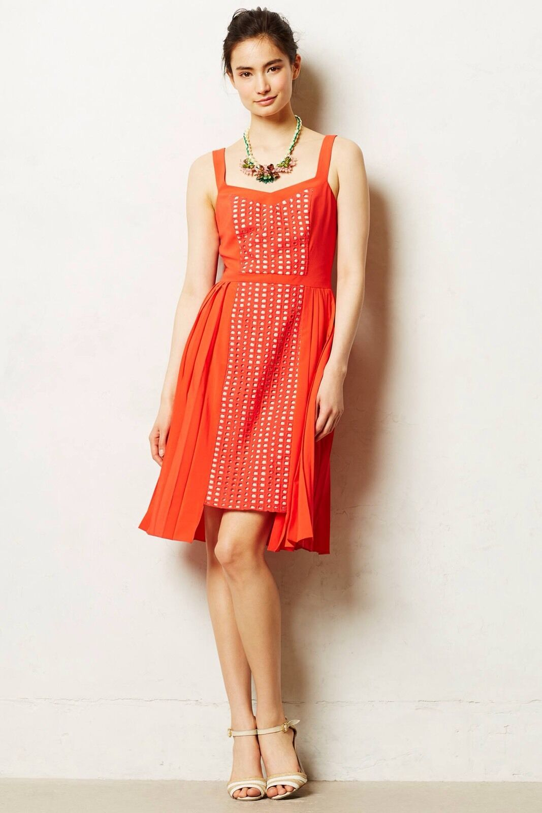 NEW Anthropologie Neria Pleated Dress From Vessel by Timo Weiland Größe 4