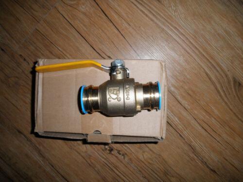 Press ball valve propress full port 1-1//4 lead free new as shown