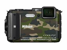 Nikon COOLPIX AW130 Waterproof Digital Camera (Camouflage)