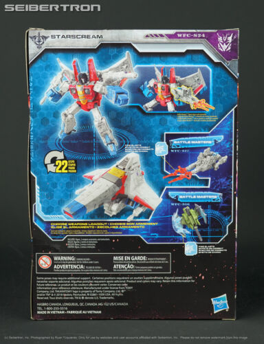 WFC-S24 STARSCREAM Transformers War for Cybertron Siege Voyager Hasbro 2019 New