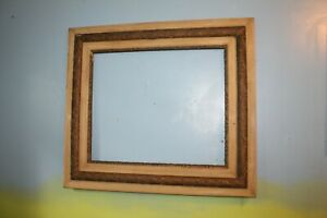 Antique-Wood-Picture-Frame-20-034-x-24-034-Gilt-Ornate