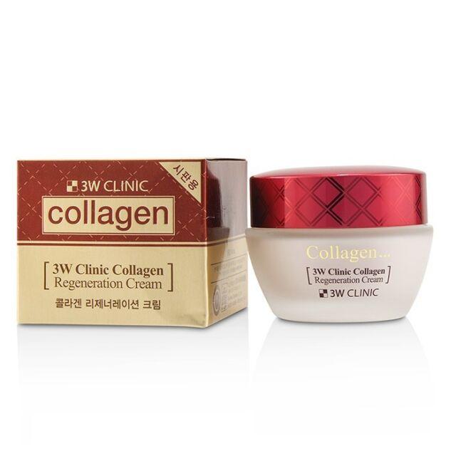 3W Clinic Collagen Regeneration Cream 60ml Moisturizers & Treatments