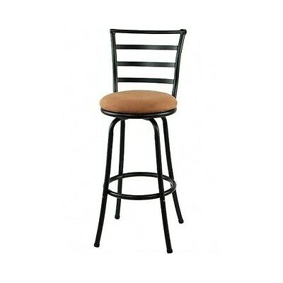 Swivel Metal Bar Stools 29 Height Kitchen Counter Barstools Dining Furniture Home Garden Furniture Contemporary Bar Stools